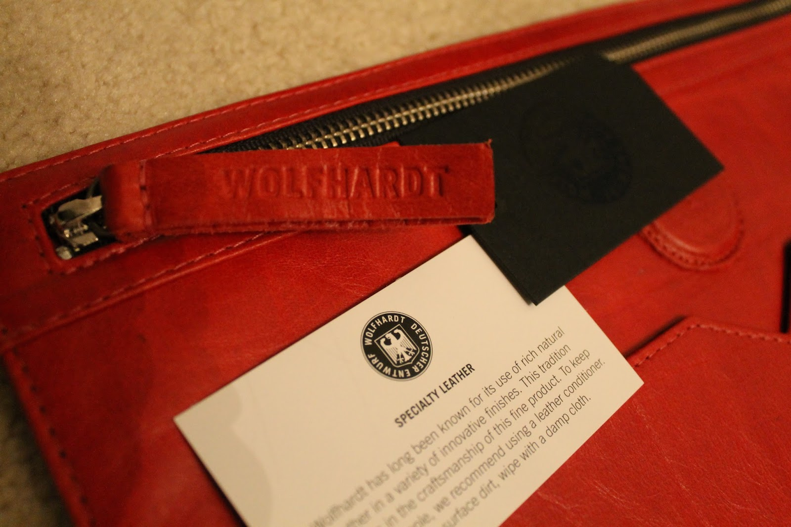 The Style Selections: New (Fashion) Bits : My Beautiful Wolfhardt Clutch